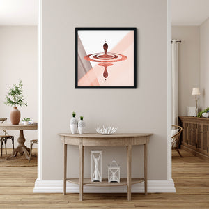 Digital Mindfulness - Red - Meditation and Mindfulness Wall Art