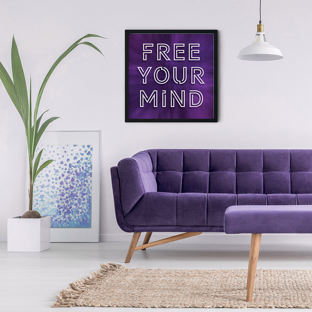 Meditation Wall Art - Free Your Mind