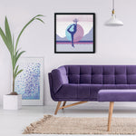 Load image into Gallery viewer, Growth Comes From Within - Magenta - Meditation and Mindfulness Wall Art