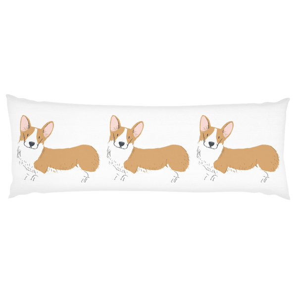 Corgi Body Pillow - Sic Tranist Gloriaa