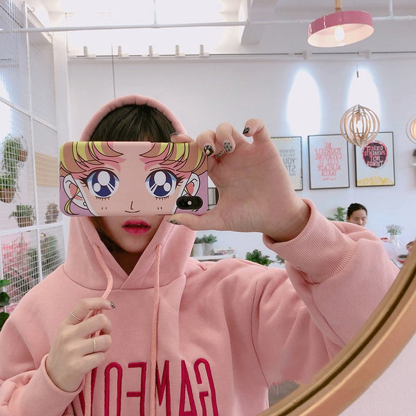 Usagi Sailor Moon Eyes iPhone Cases - Sic Tranist Gloriaa