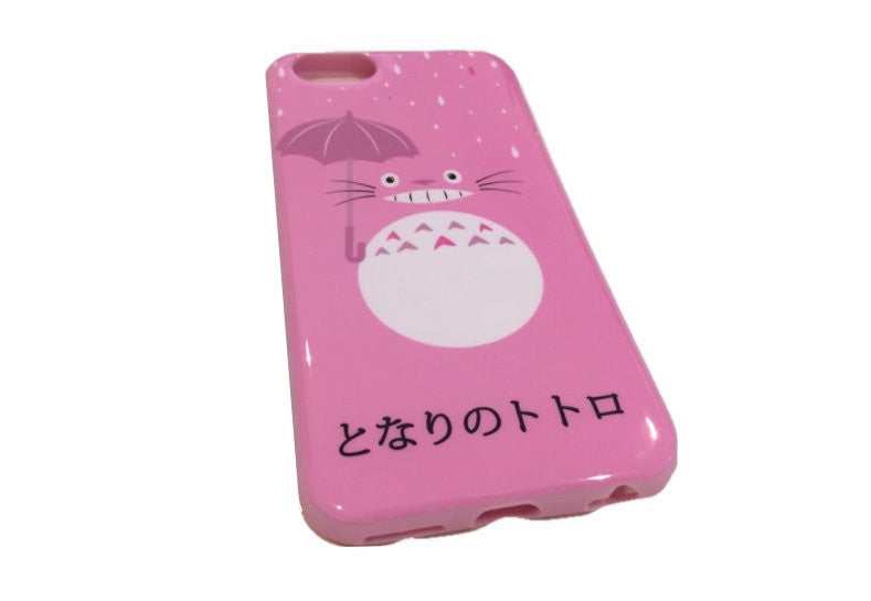 Pink Totoro iPhone 6 Soft Case - Sic Tranist Gloriaa