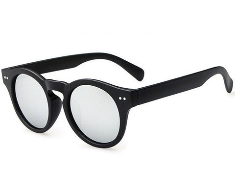 Round Mirrored Sunglasses - Sic Tranist Gloriaa