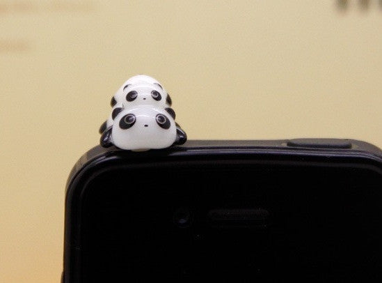 Panda Headphone Cover - Sic Tranist Gloriaa