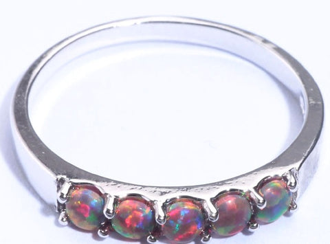 Daenerys Stackable Opal Ring - Sic Tranist Gloriaa