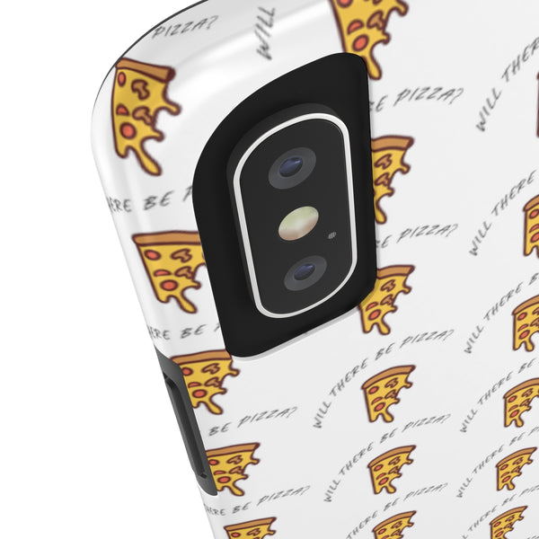 Will There Be Pizza iPhone Case - Sic Tranist Gloriaa