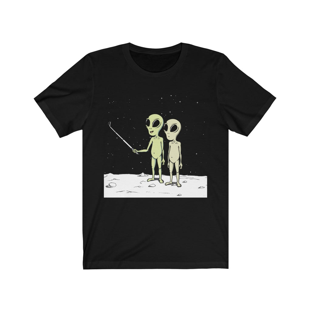 Alien Selfies Tee- Black - Sic Tranist Gloriaa