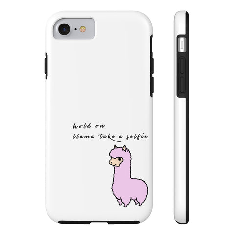 Llama Take A Selfie Phone Case- iPhone And Samsung Options - Sic Tranist Gloriaa