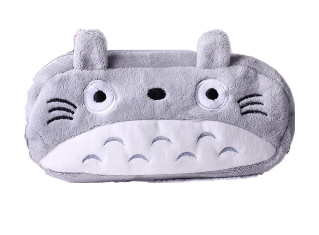 Totoro Plush Pencil Case - Sic Tranist Gloriaa