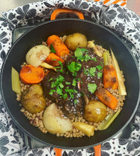 Load image into Gallery viewer, Old Fashioned Pot Roast Dinner Pot from Door Belle Dinners