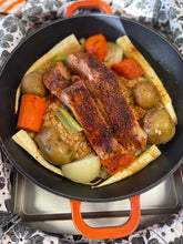 Load image into Gallery viewer, Special Salmon Dinner Pot from Door Belle Dinners