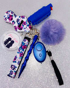 Floral Safety Keychains