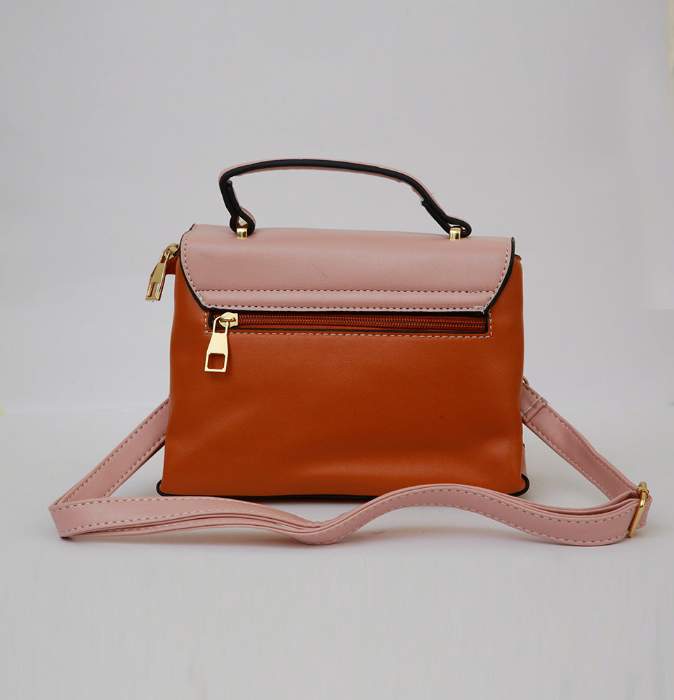 Miniature Brown Hand Bag