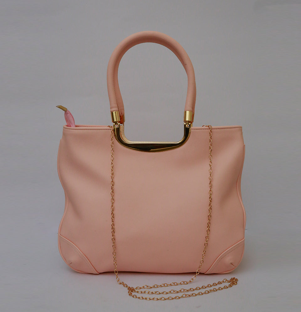 Currency Pink Hand Bag