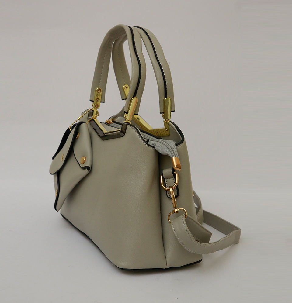 Carrier Grey Hand Bag