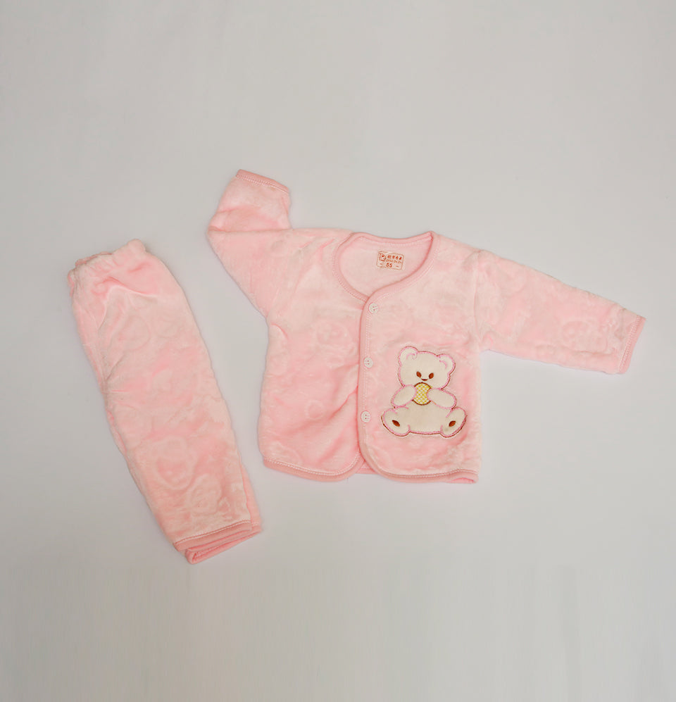 Pink Bear Trouser Shirt