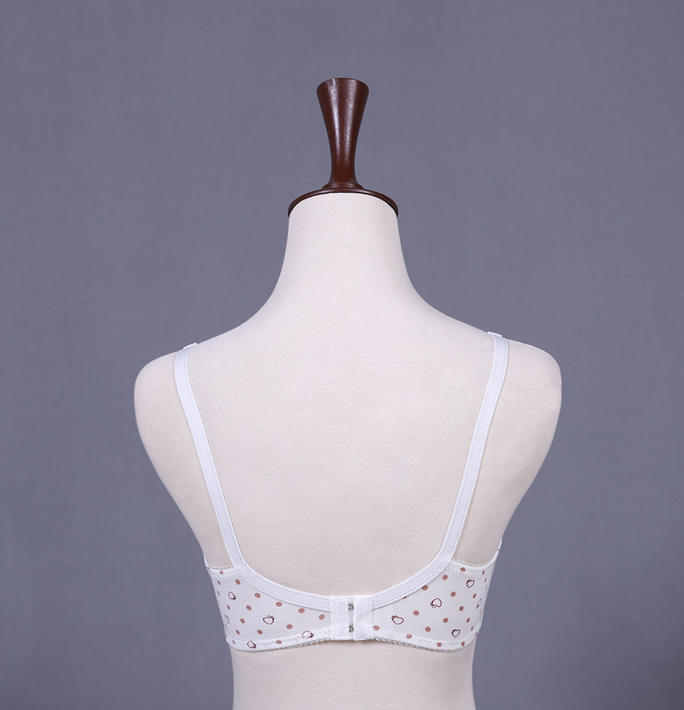 Everyday Cotton Bra White