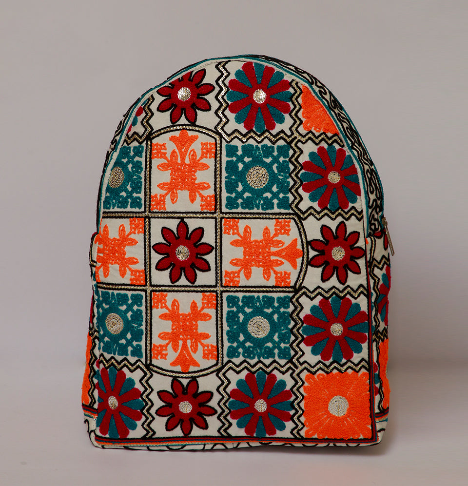 Multi Color Backpack