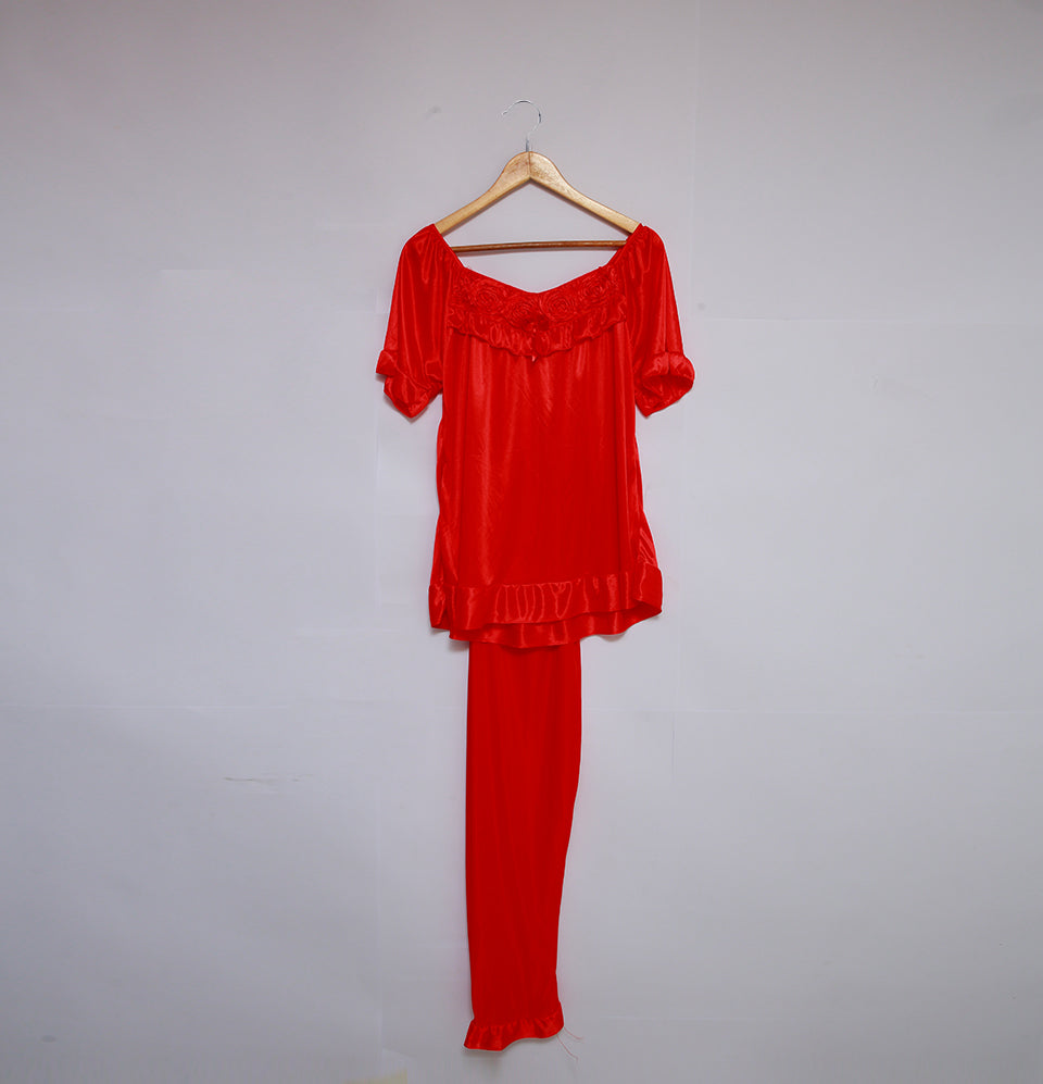 Elegant Red Nighty