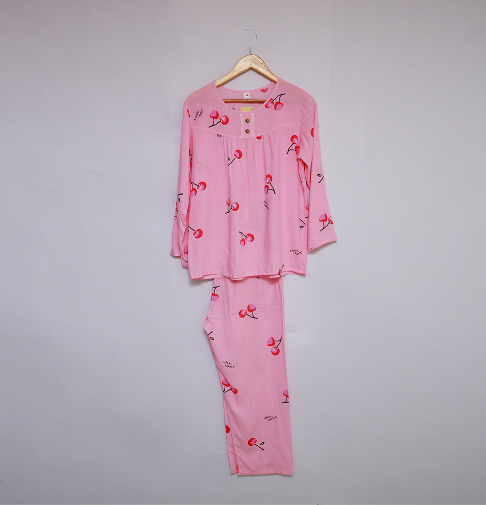 European Pink Nighty