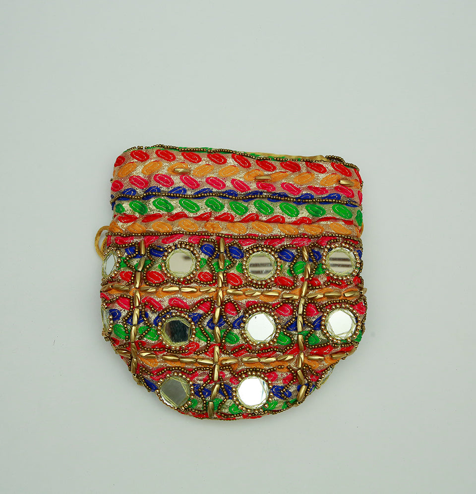 Multi Color Potli Bag
