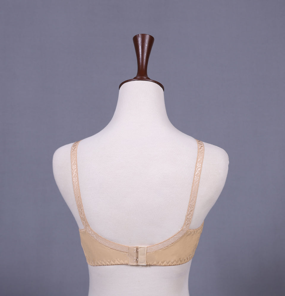 Everyday Embroidered Cotton Bra
