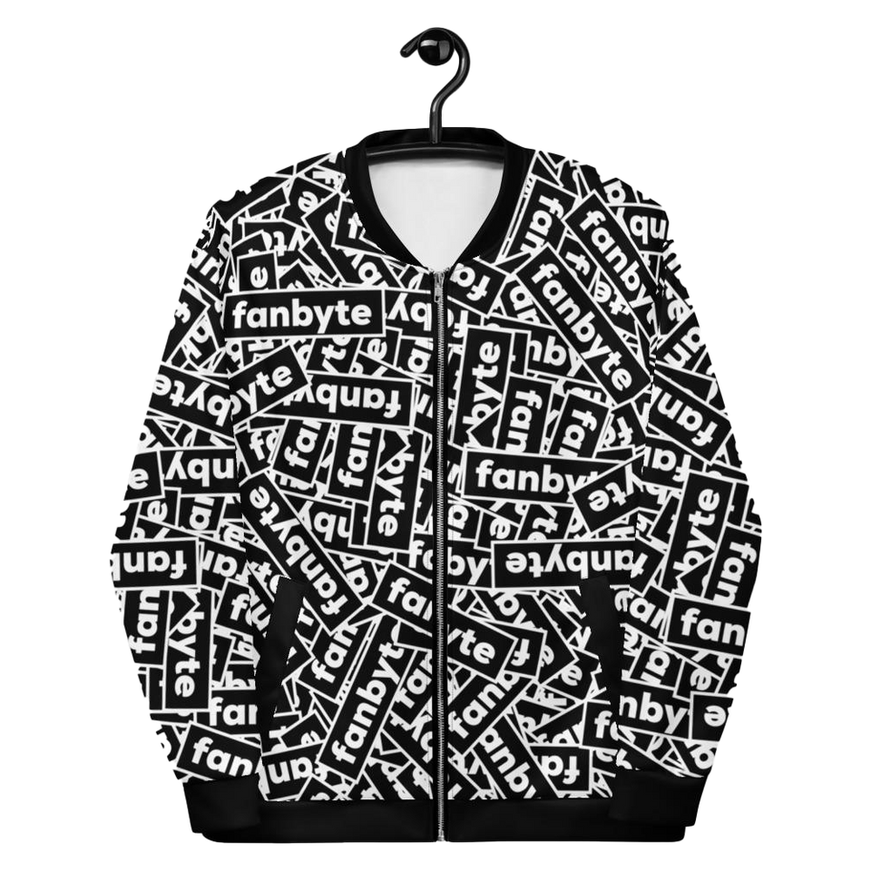 "PC02 - JACKET ""STICKER BOMB-ER B+W"""