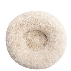 Comfortable Donut Cuddler Round Dog Bed