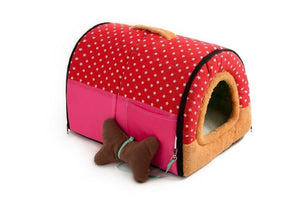 House Cave Comfortable Dog Bed