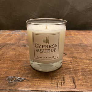 Cavalry Court Cypress and Suede Candle