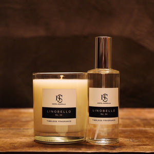 Hotel Sorella Signature Scent Candle and Spray Combo