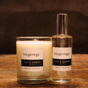 The George Signature Scent Candle and Spray