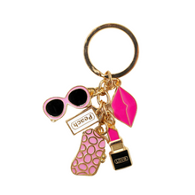 Load image into Gallery viewer, Fun Fashion Key Chain - Sparty Girl