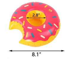 Load image into Gallery viewer, Donuts Drink Holder 2.8 Inches - Sparty Girl