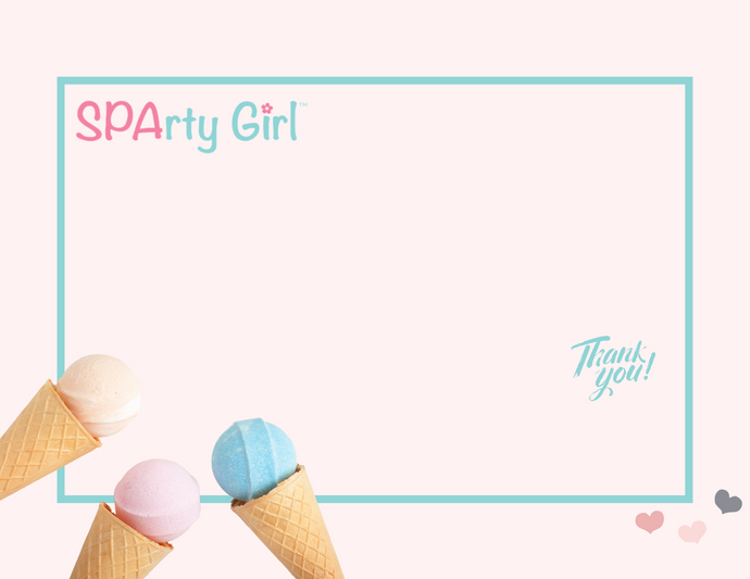 Ice Cream Card - Sparty Girl