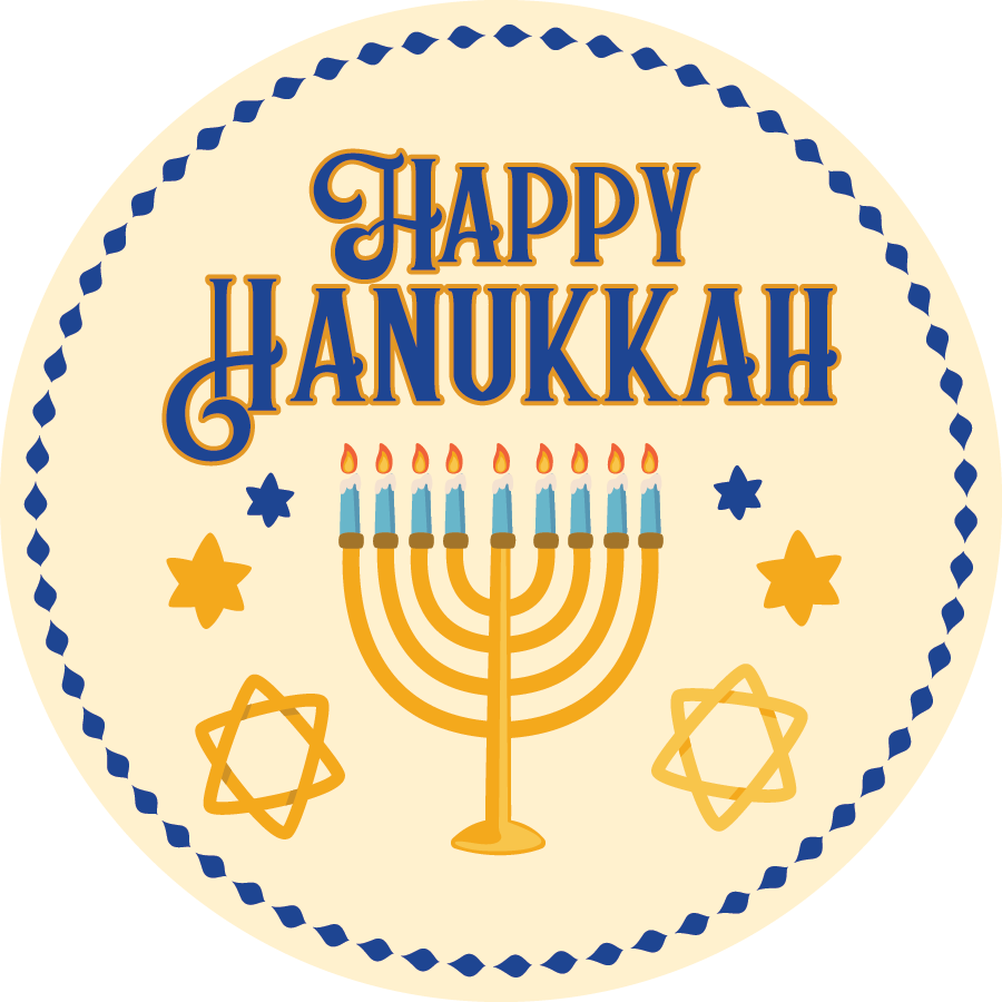 Happy Hanukkah - Sparty Girl