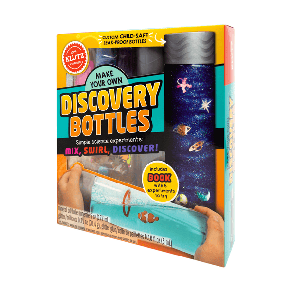 KLUTZ MAKER LAB: MAKE YOUR OWN DISCOVERY BOTTLES