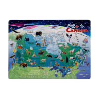 MAP OF CANADA 35 PIECE TRAY PUZZLE