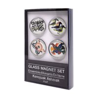 KENOJUAK ASHEVAK GLASS MAGNET SET