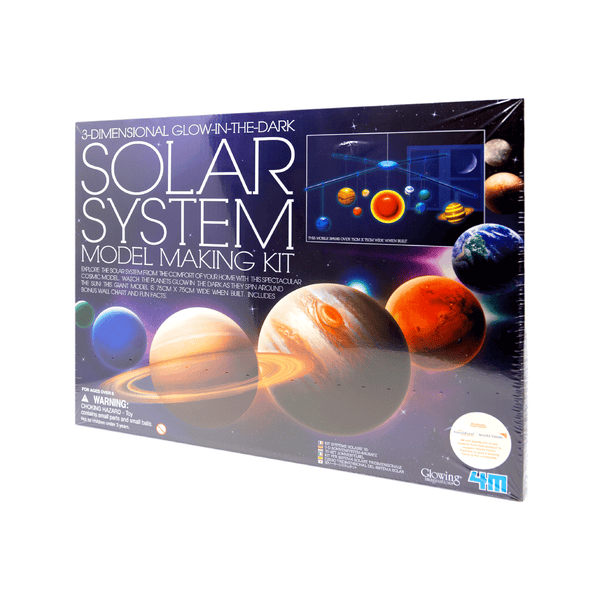 4M 3D GLOW IN THE DARK SOLAR SYSTEM MAKING KIT