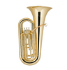 Holton BB450 BBb Tuba - 3 Valve - Background Brass  W Case
