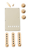 Fender Stratocaster Accessory Kit Aged White