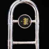 King 606SP Student Trombone, Silver Plated S/N 539318