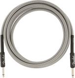 Fender Professional Series Instrument Cable, 10', White Tweed
