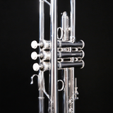 Bach LR190S43B Stradivarius Professional Bb Trumpet, Silver Plated