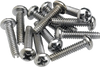 Fender Pickup and Selector Switch Mounting Screws (12) (Chrome)