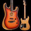 Fender Acoustasonic Stratocaster, Ebony Fb, 3 Color Sunburst used 834 4lbs 11.8oz
