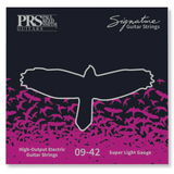 PRS Paul Reed Smith Guitar String Set, Uncoated 9-42 PRS Signature