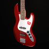 Squier Contemporary Jazz Bass, Dark Metallic Red 101 8lbs 13.5oz