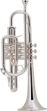 Bach 181SML Cornet - Professional, Medium Large Bore, Silver-Plated